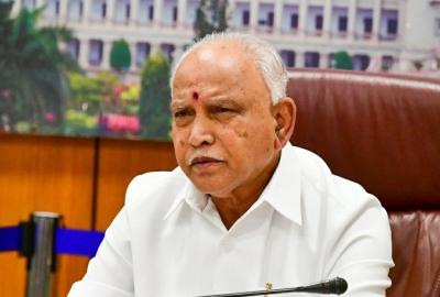 K'taka BJP leaders term GHMC polls as 'Spectacular Victory'