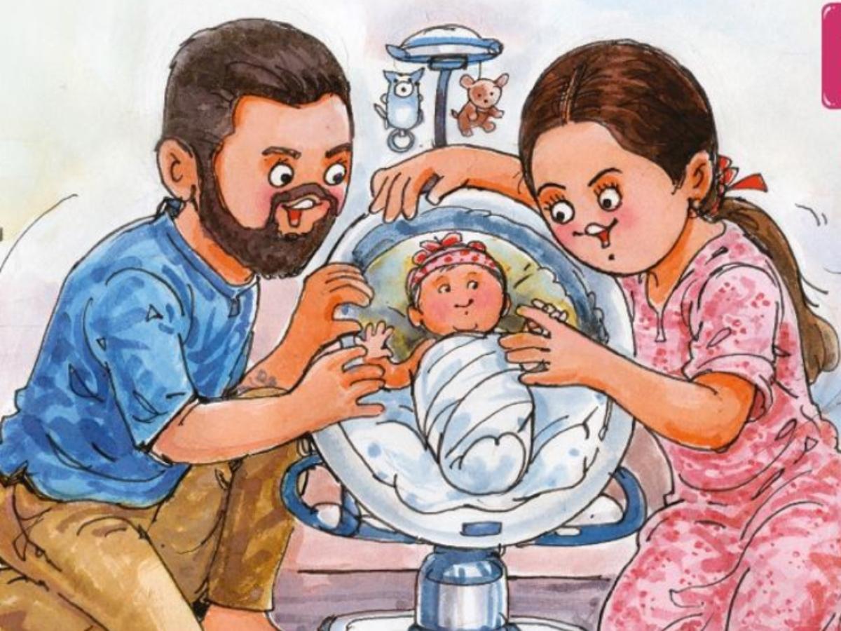 Amul's greeting for Anushka Sharma, Virat Kohli is the cutest thing on internet