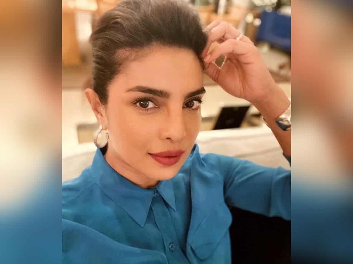 Priyanka Chopra shares glimpse of 'Press Junket Life' with glamorous selfie