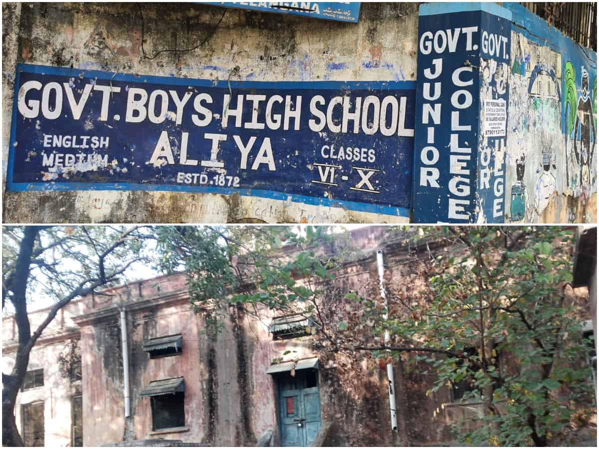 Hyderabad: Nizam-era Madrasa-I-Aliya might fall any time soon
