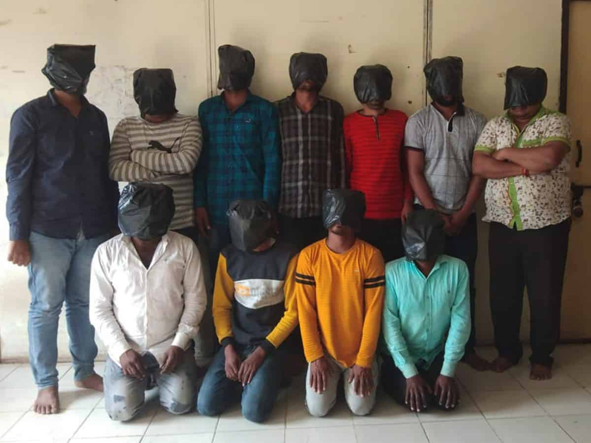 Dacoit gang from Rajasthan, UP held in Hyderabad; property worth 55 lakh recovered