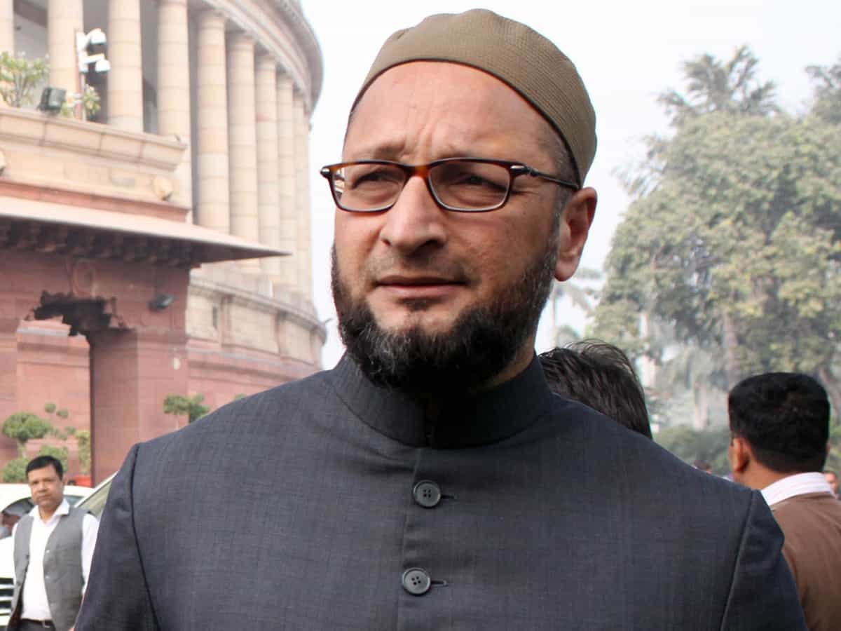 Owaisi questions PM Modi's silence on Chinese constructions in Indian territory