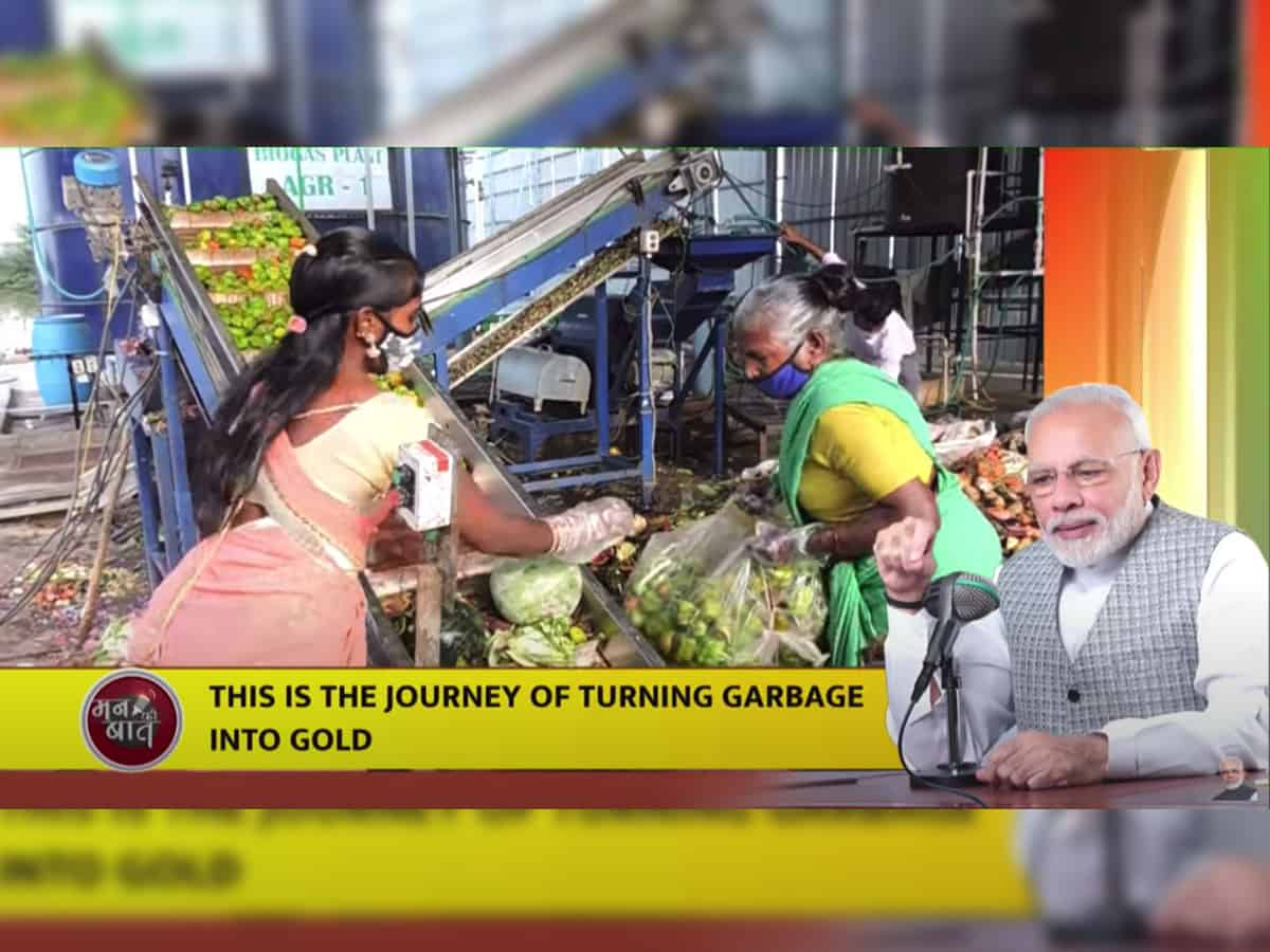 Hyderabad market elated over PM's praise for waste to energy plant