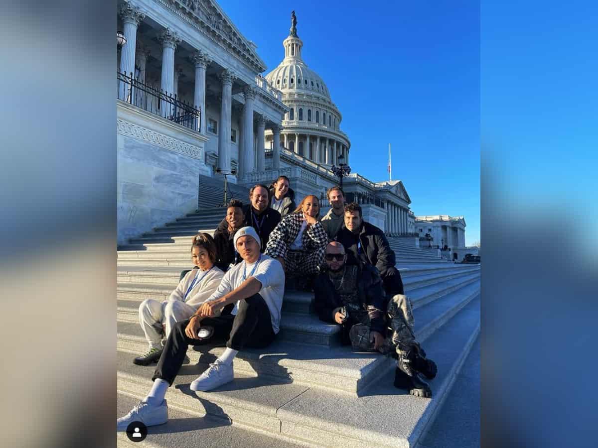 Jennifer Lopez gears up for Biden-Harris inauguration, shares glimpses