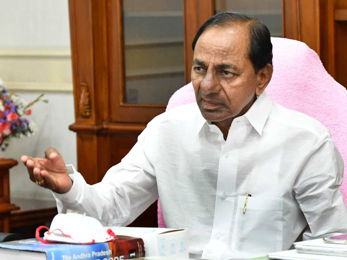 KCR unhappy with MWD's underperformance; Report sought from Officials
