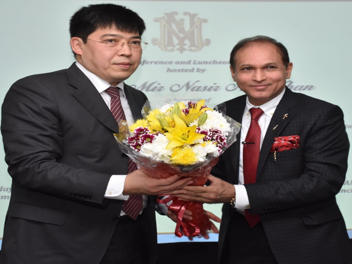 Businessman Nasir Ali Khan appointed as honorary consul of Kazakhstan in Hyderabad