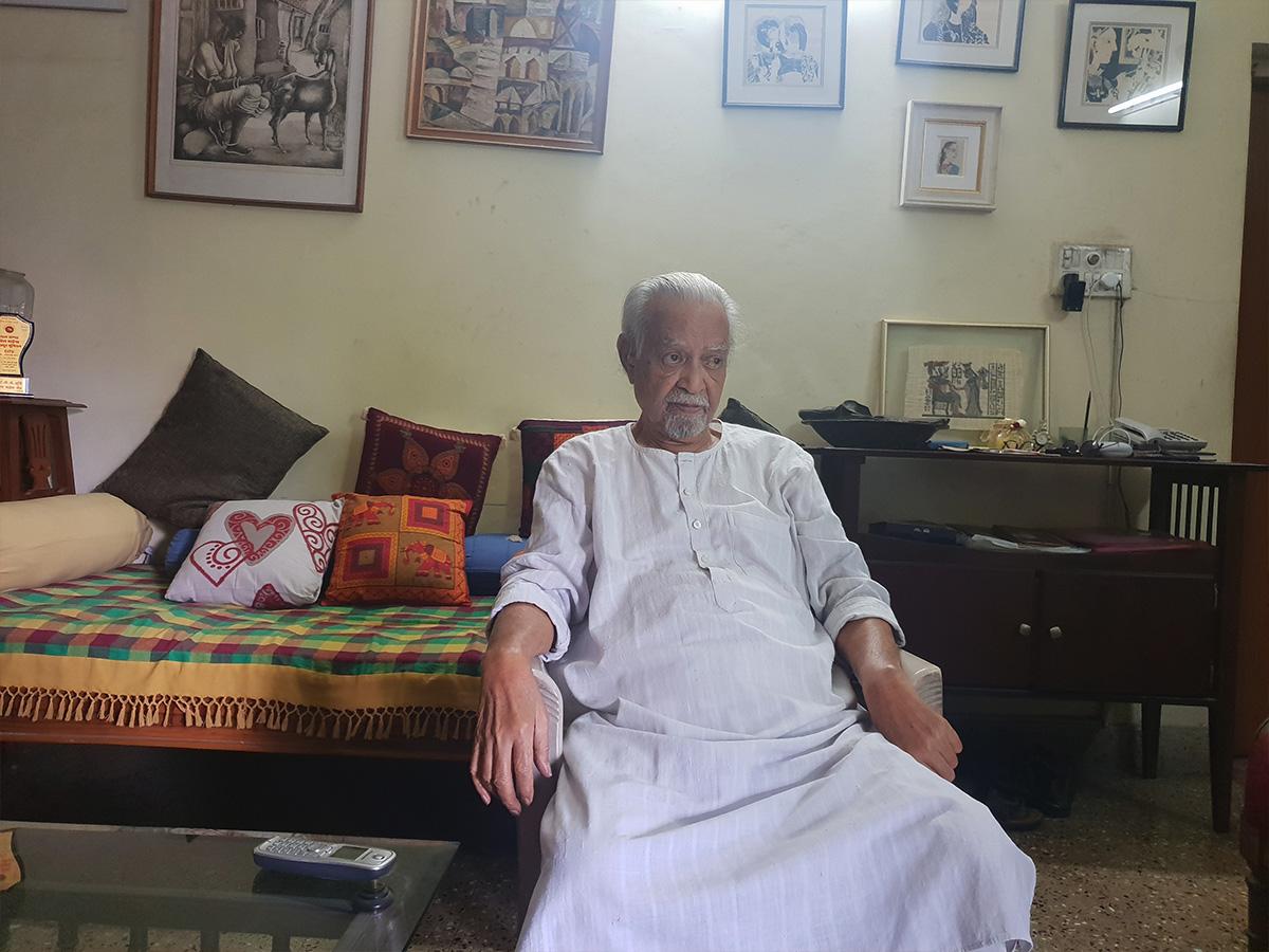 Freedom fighter B. Narsing Rao passes away