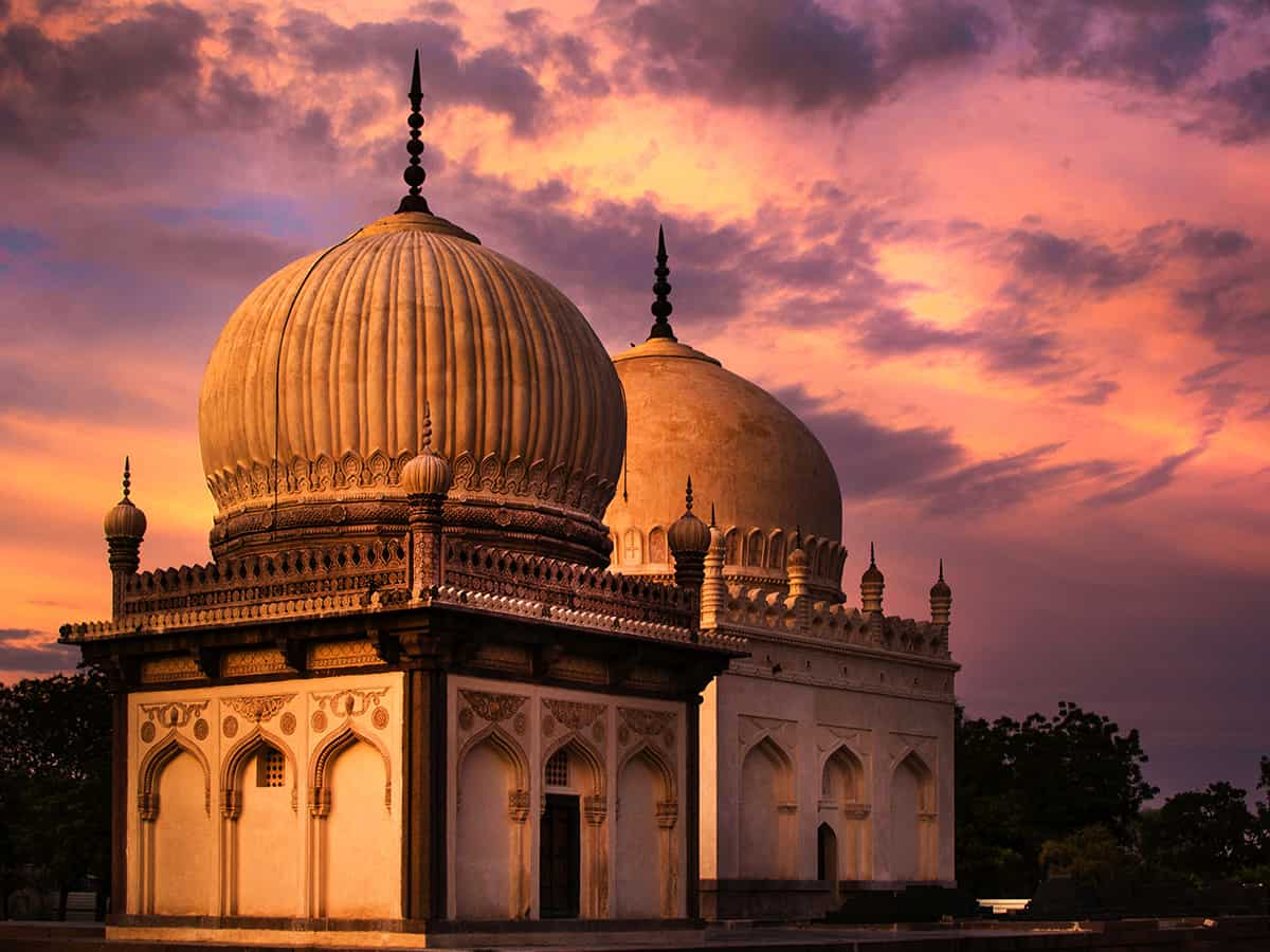 An unusual ode to Qutb Shahi tombs from a British poetess who never visited them