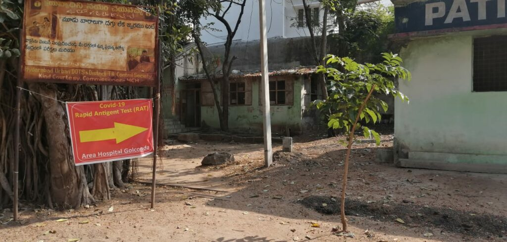 Unkempt surroundings, unpaid salaries: Golconda area hospital lies in pile of neglect
