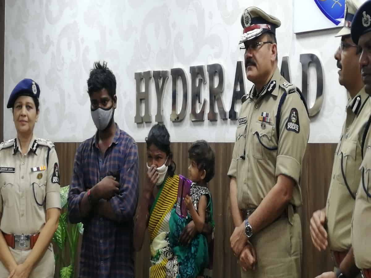 Hyderabad: Cops rescue 2-year-old kidnapped girl within 24 hours