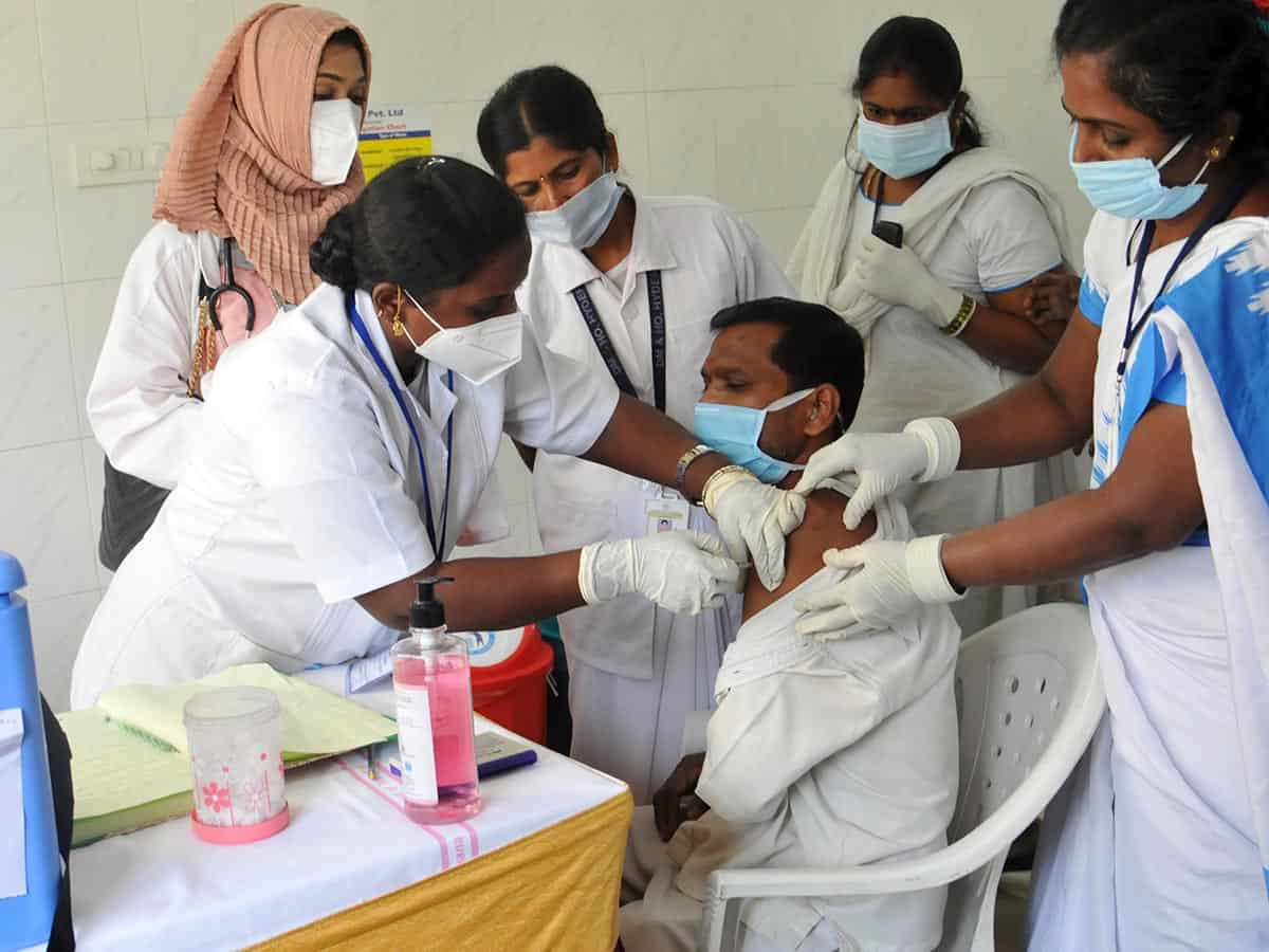 Doctors at Hyderabad's OGH who took COVID-19 vaccine are down with fever, fatigue