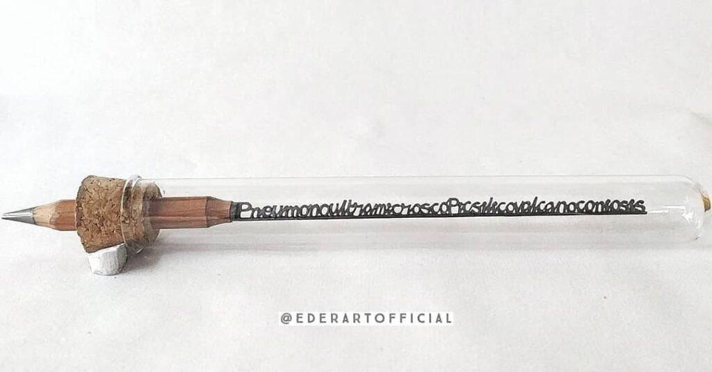 Young Hyderabadi artist carves miniature art on pencil tips