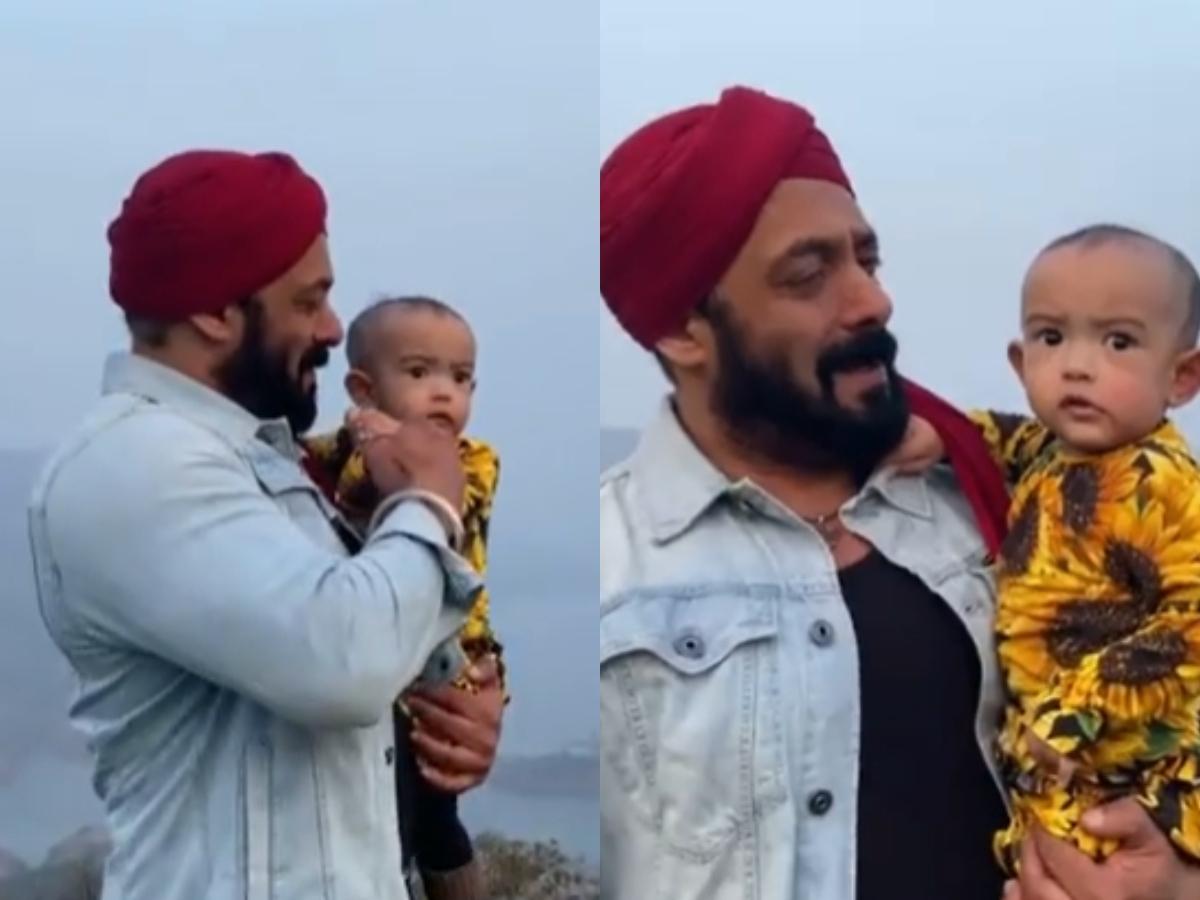 Watch: Salman Khan dances with niece Ayat on his song 'Tu Jo Mila'