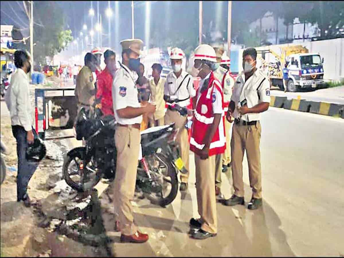 Cyberabad Traffic cops nab 177 drunken drivers
