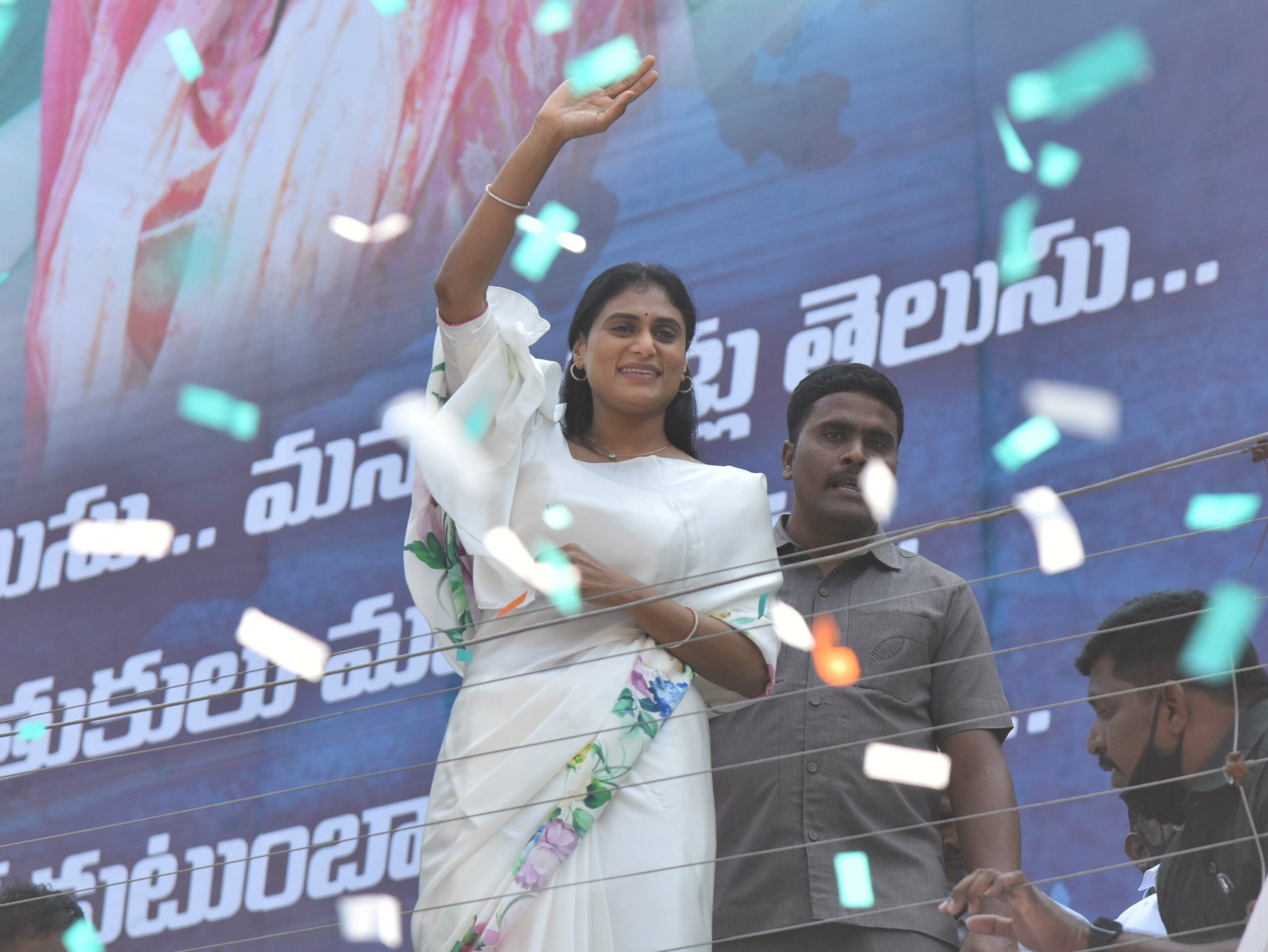 Sharmila gears up for another meeting