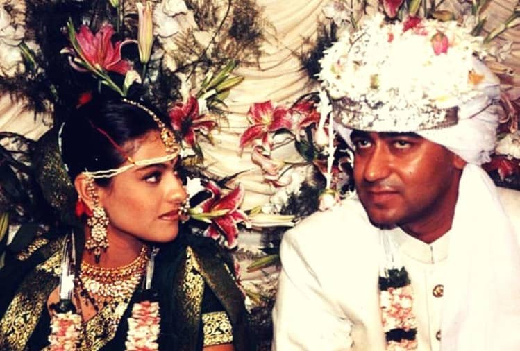 Anniversary special: Throwback to Kajol and Ajay Devgn's wedding in 1999, see pics
