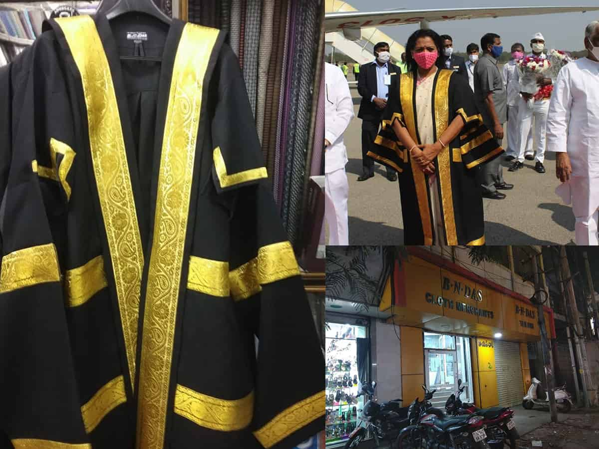 This Sultan Bazaar store is behind the iconic Mayor's gown!
