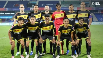 Hyderabad, NorthEast play out goalless draw