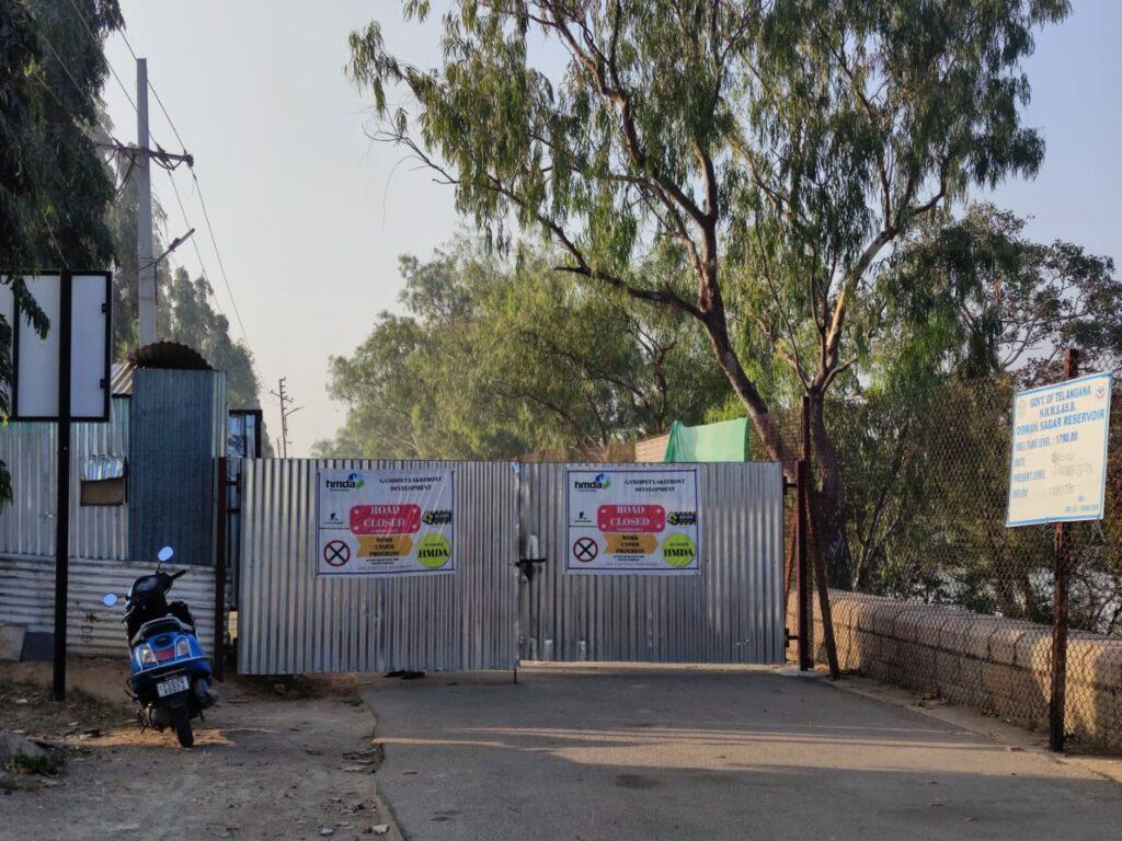 Gandipet still off-limits for citizens as HMWSSB keeps it shut