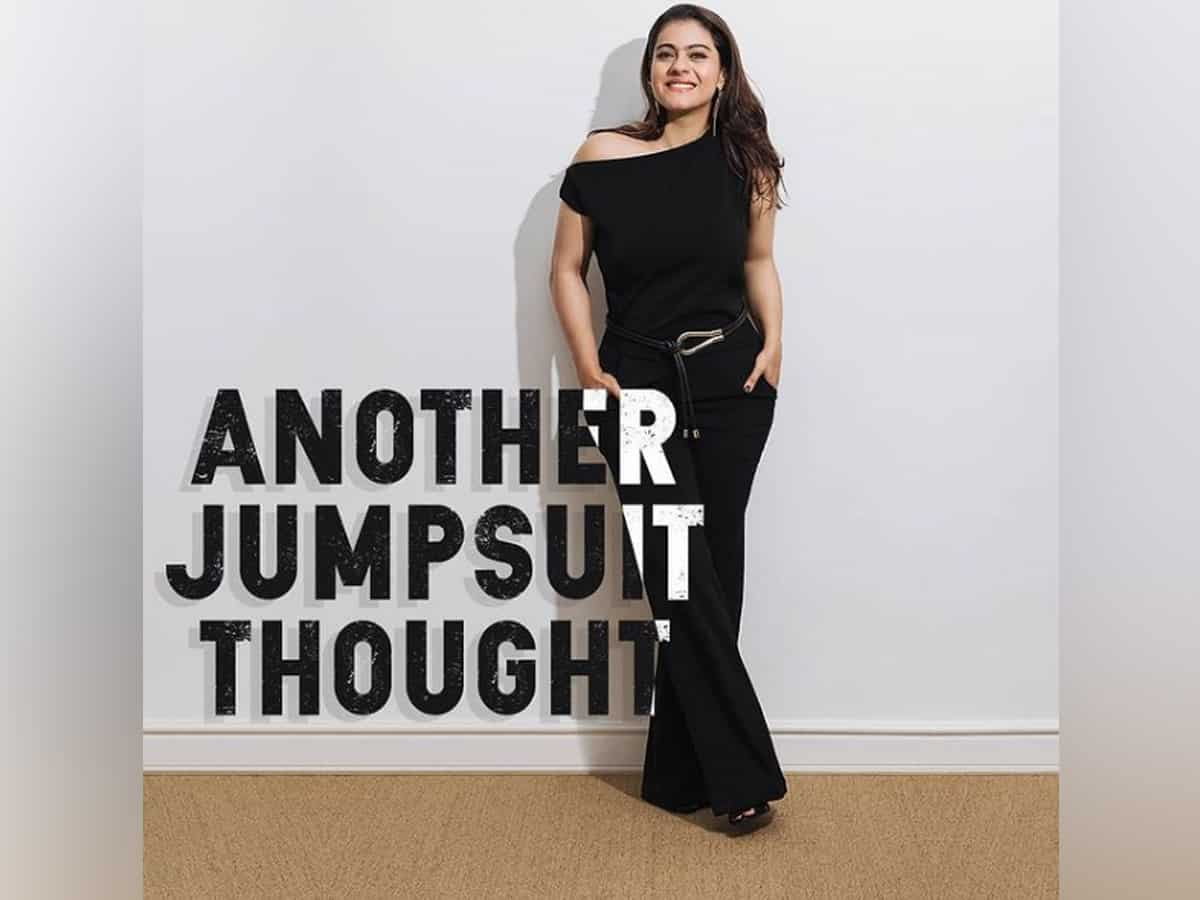 Kajol pens 'another jumpsuit thought' on road to happiness