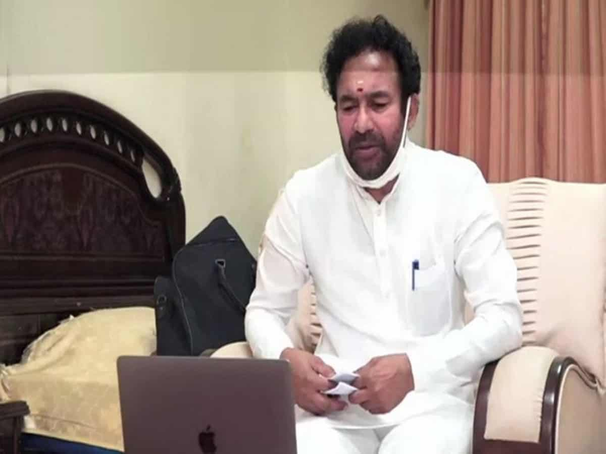 No plans to make Hyderabad Union Territory: Kishan Reddy