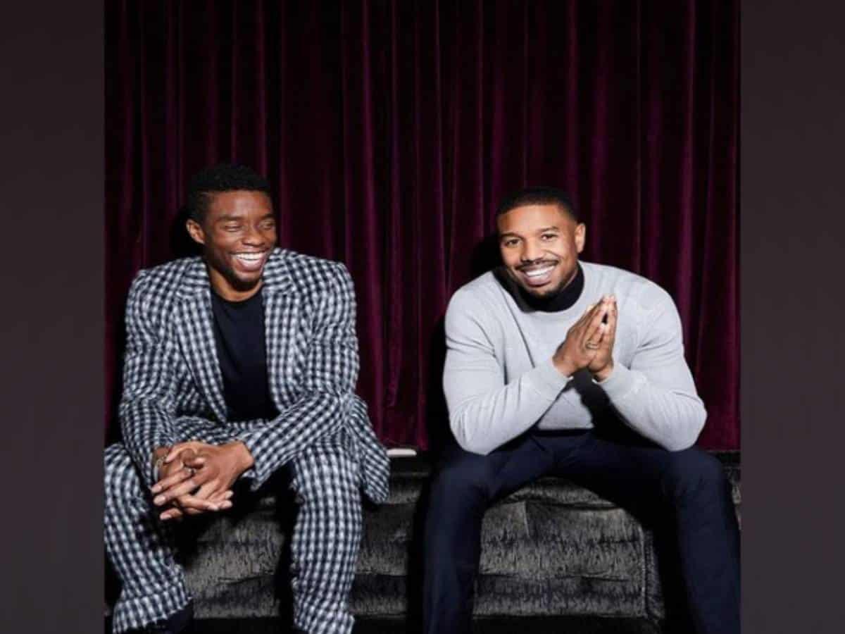 Michael B. Jordan shares heartfelt post for Chadwick Boseman's record SAG nominations