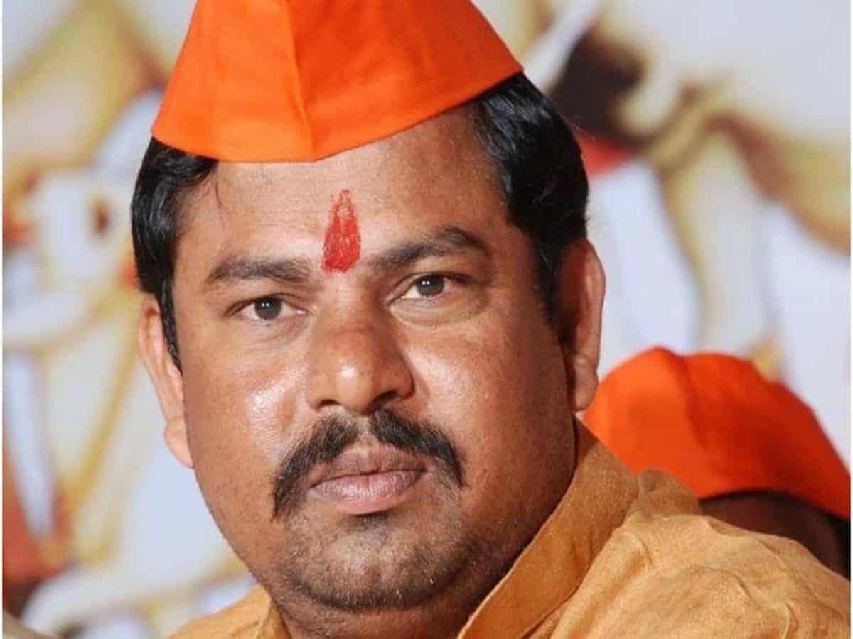 BJP MLA Raja singh slams MP Asaduddin Owaisi