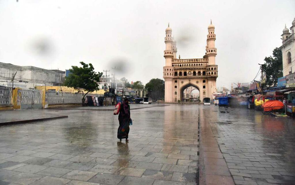 Old City experiences heavy rainfall and storms