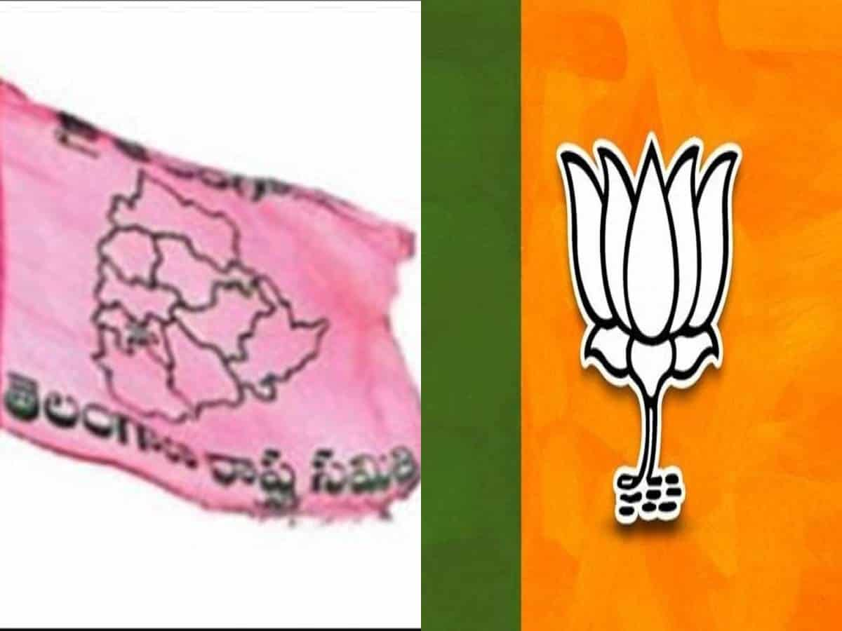 TRS-BJP war of words intensifies after attack on MLA's house