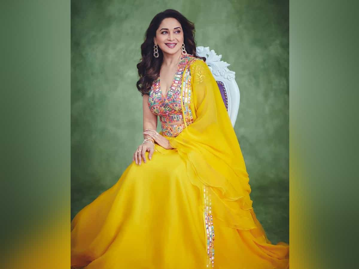 Madhuri Dixit showcases her 'sunshine state of mind' with stunning pictures