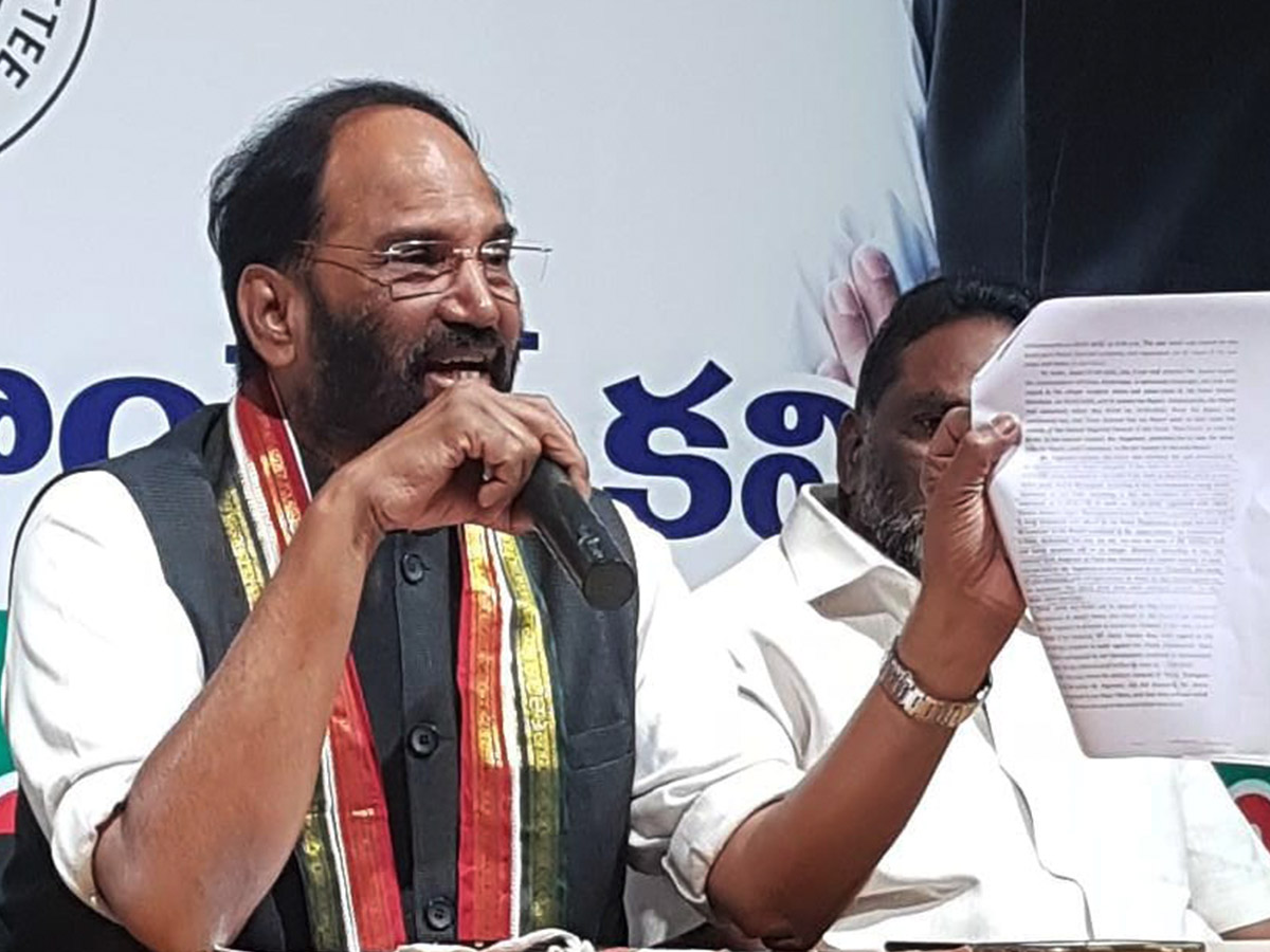 TRS hand behind Telangana lawyer couple's murder: Congress