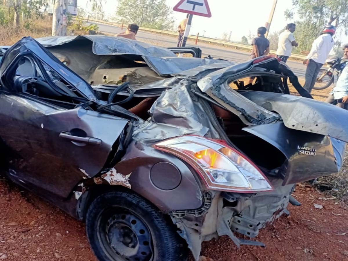 Three youths from city die in road accident at Shadnagar