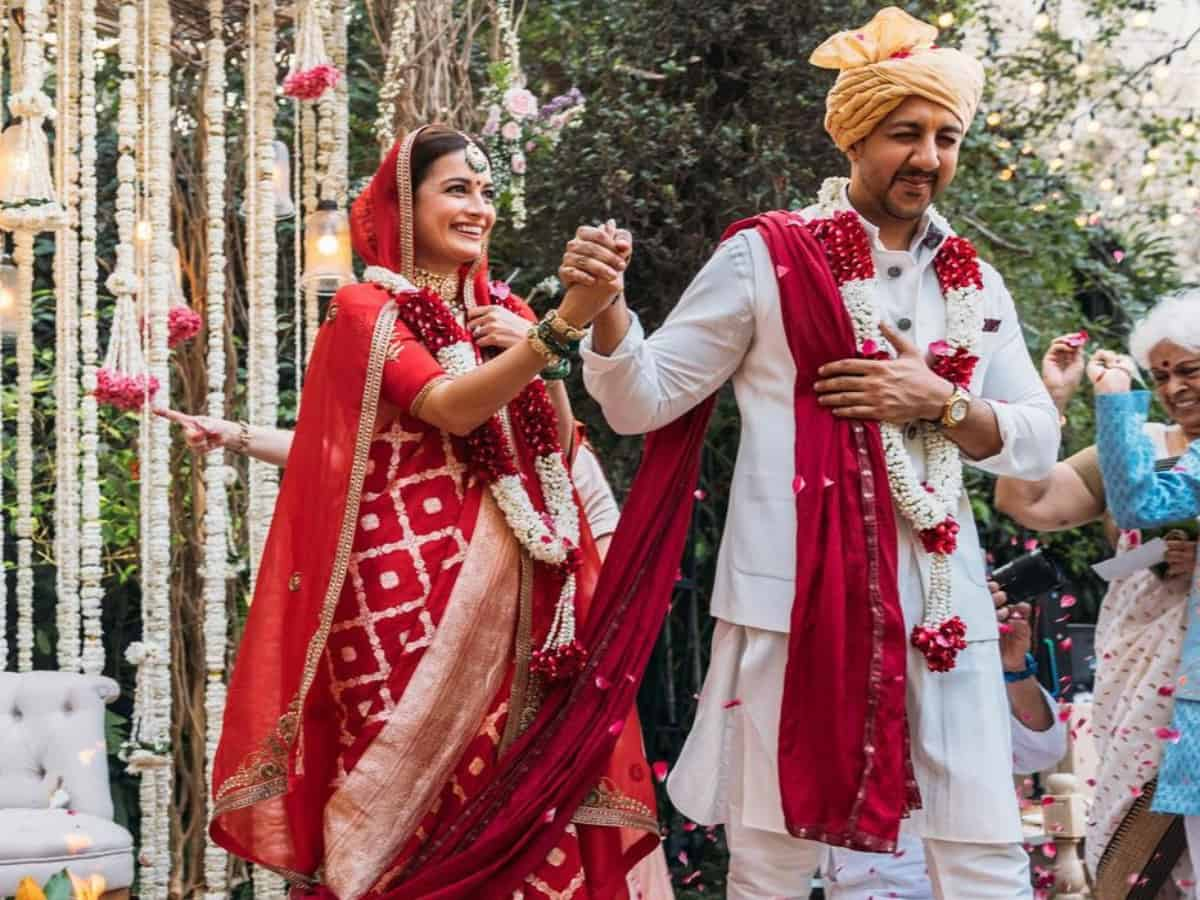 Dia Mirza marries Vaibhav Rekhi, actress shares pictures from her 'big day'
