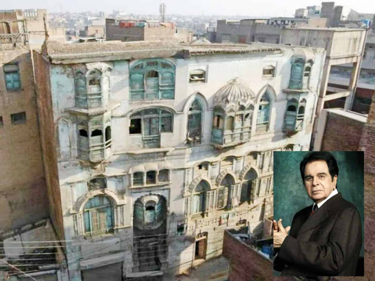 Dilip Kumar's ancestral Pak house owner refuses to sell house for 80L, demands 25 cr