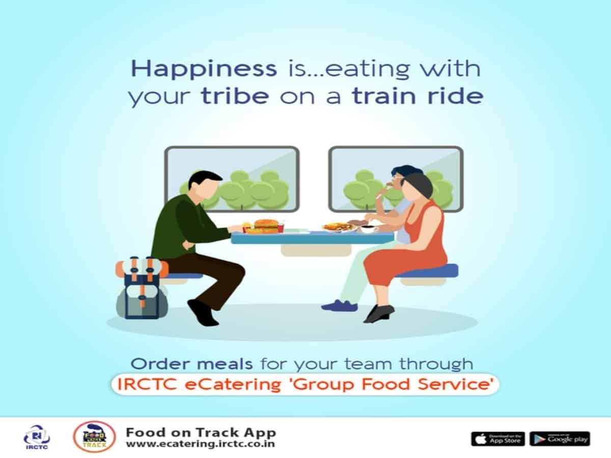 Passengers can now order food in trains using new E-catering app