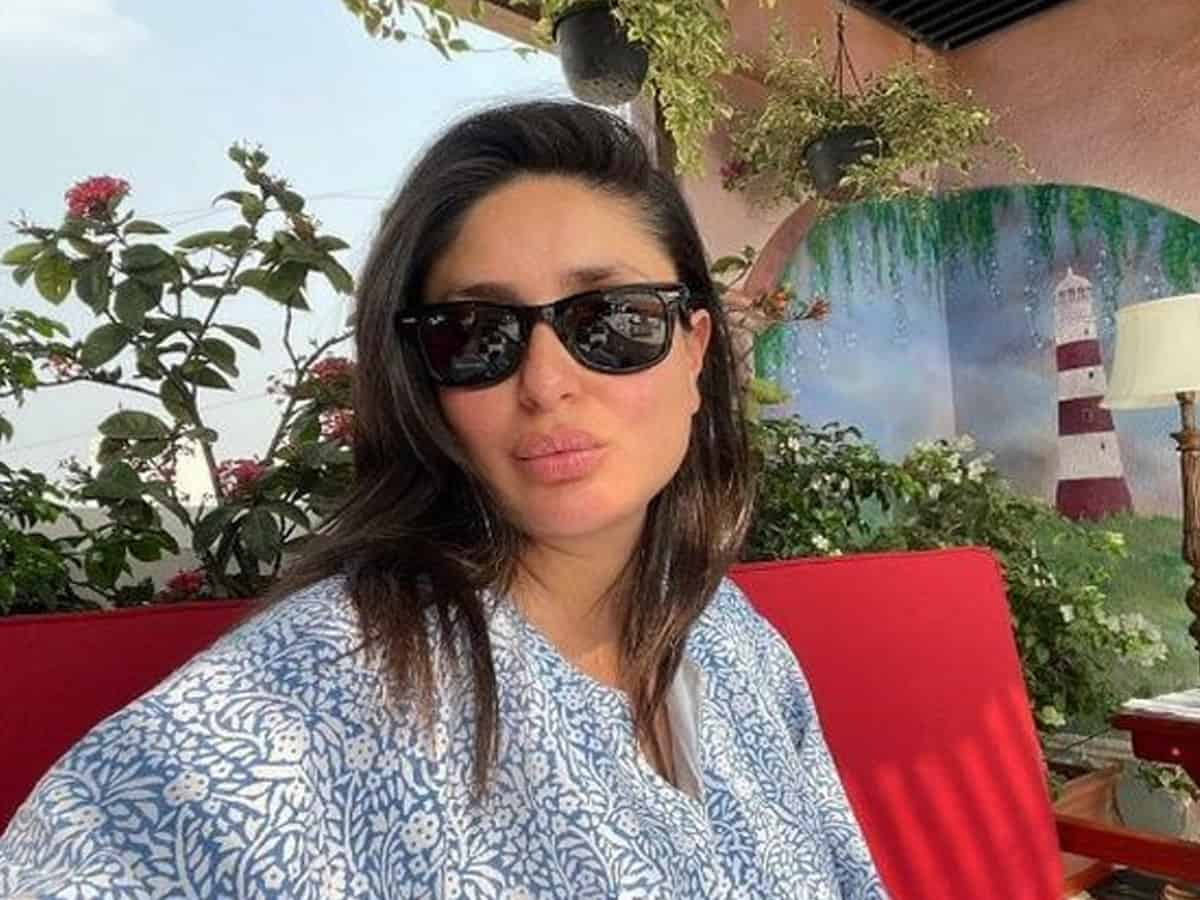 Kareena Kapoor channels love for Kaftan, pout in latest Instagram post