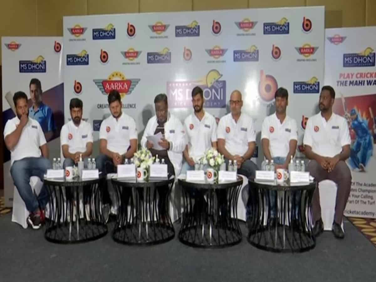 MS Dhoni Cricket Academy to set up in Telangana, Andhra and Karnataka soon