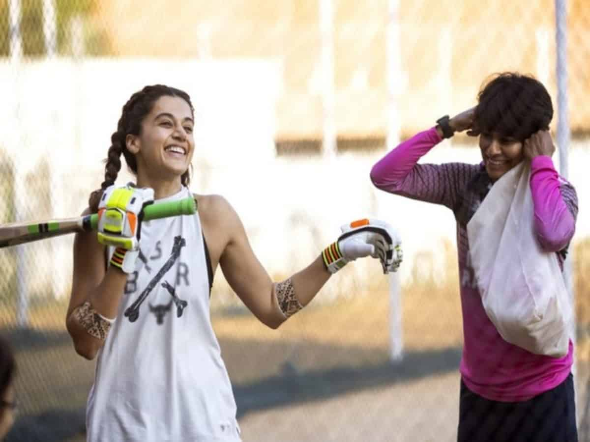 Taapsee Pannu trains with Mithali Raj's former teammate for 'Shabaash Mithu'