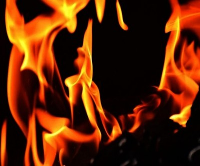 Fire breaks out at TRS party headquarters