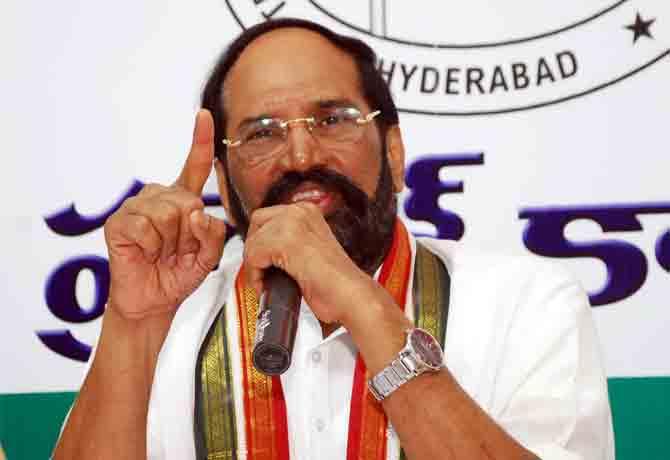 TRS leaders intimidating voters in MLC polls: Uttam Kumar Reddy