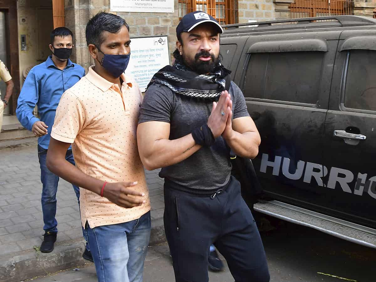 Ajaz Khan taken for medical check-up by NCB, to be produced before court