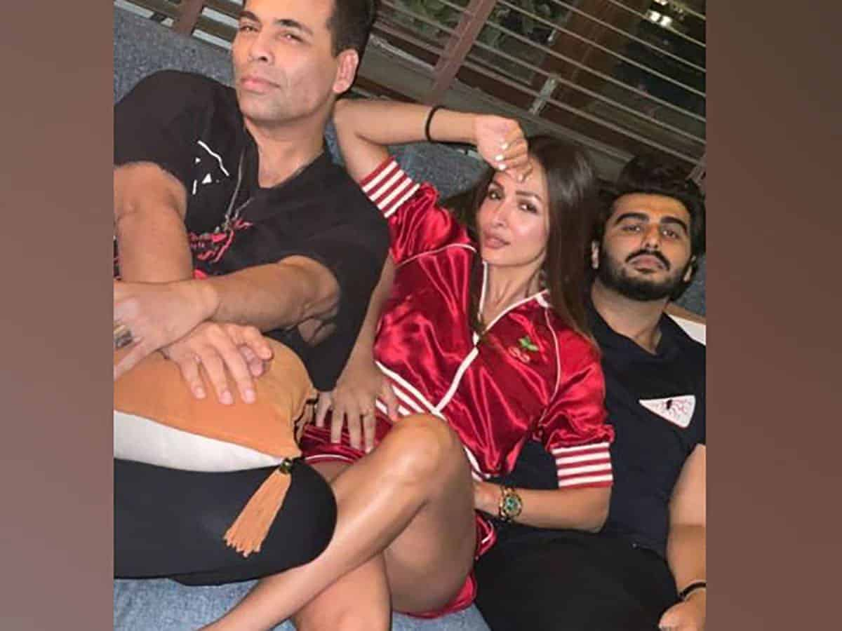 Arjun Kapoor, Malaika Arora attend cosy get-together with B-town celebs