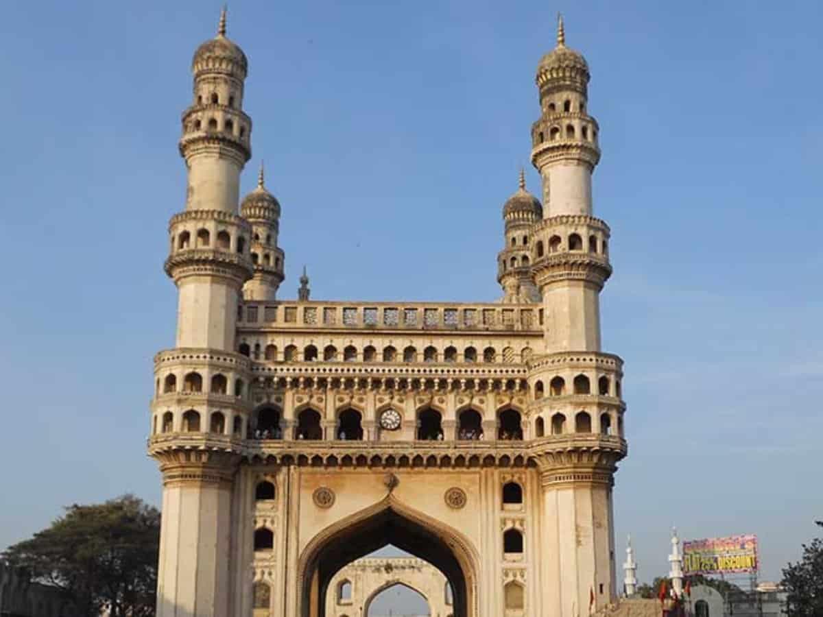 Charminar: Restoration of monument's minarets started
