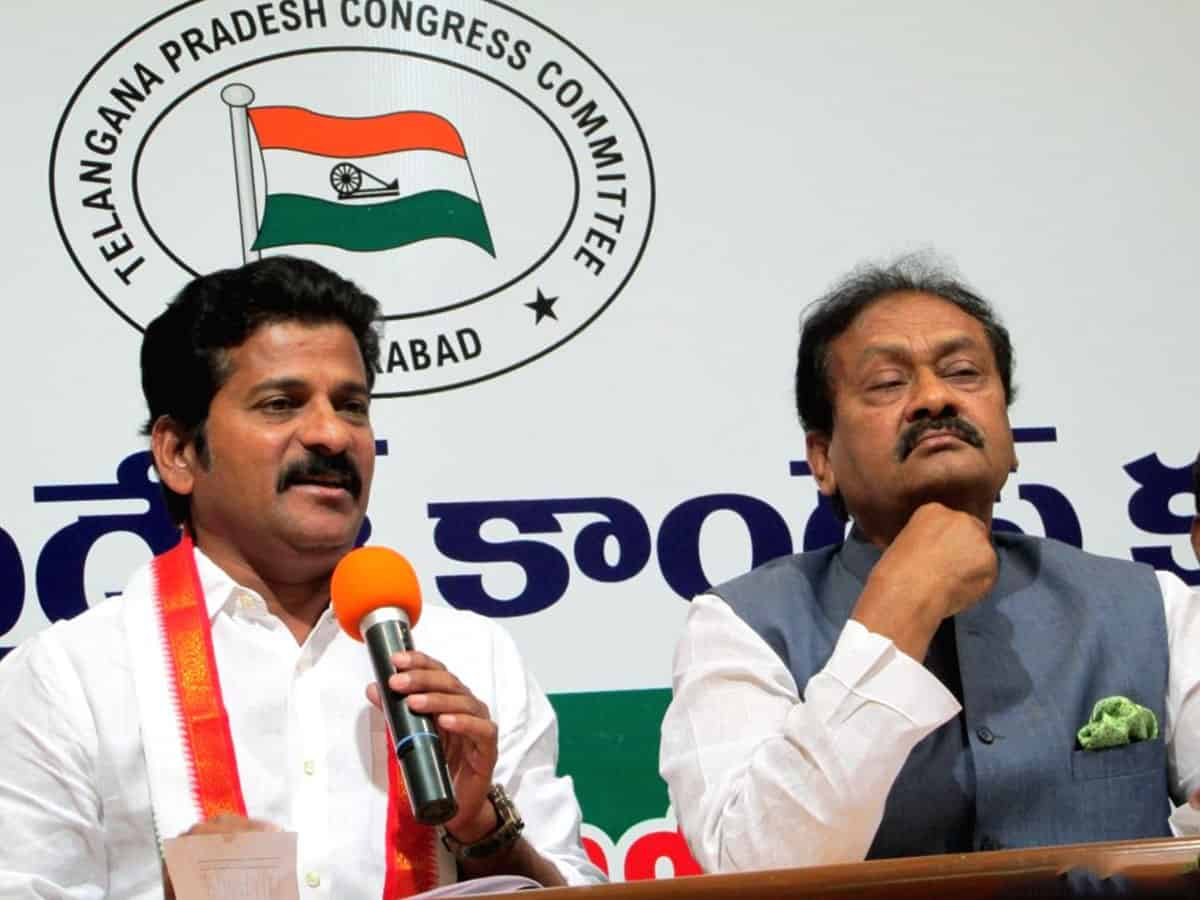 TRS and BJP working together to loot Telangana and its people, says Cong's Revanth Reddy