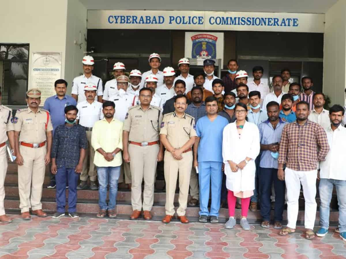 Cyberabad police launch 'First responder' training course for civilians