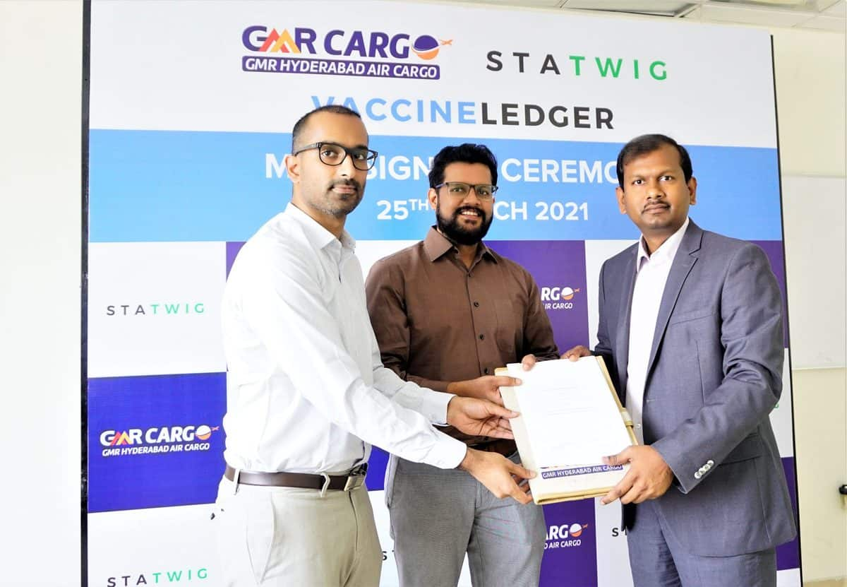 GMR Air Cargo ties up with StaTwig for real-time tracking of COVID-19 vaccine shipments