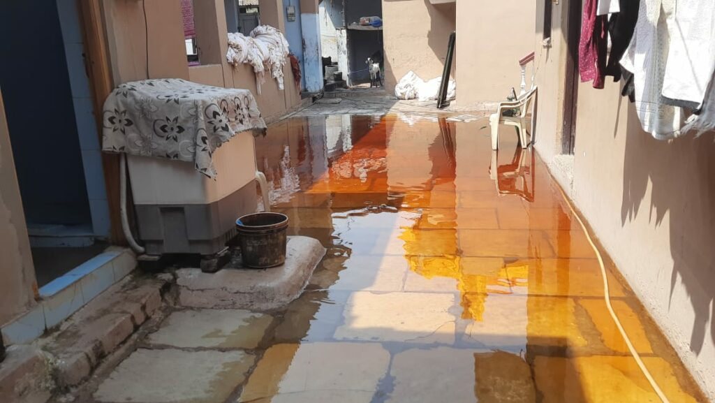 Hyderabad: Drainage overflow in Misri Gunj leaves locals worried