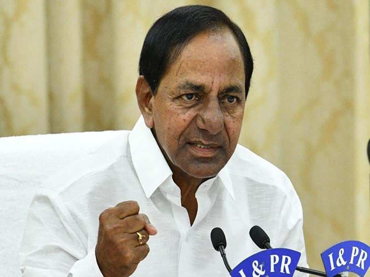 KCR blames Congress, Centre on rising fuel charges