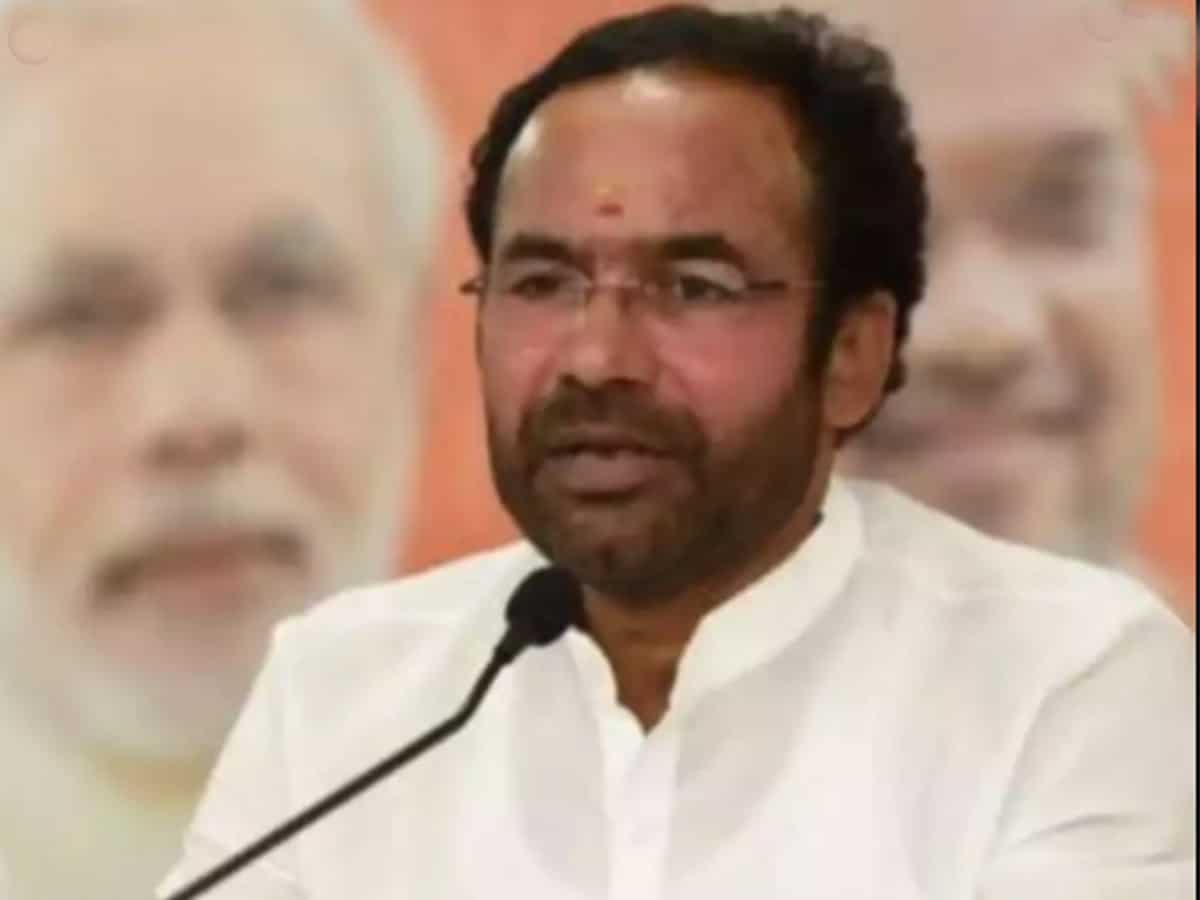 Kishan Reddy condemns attack on media persons during Bhainsa violence