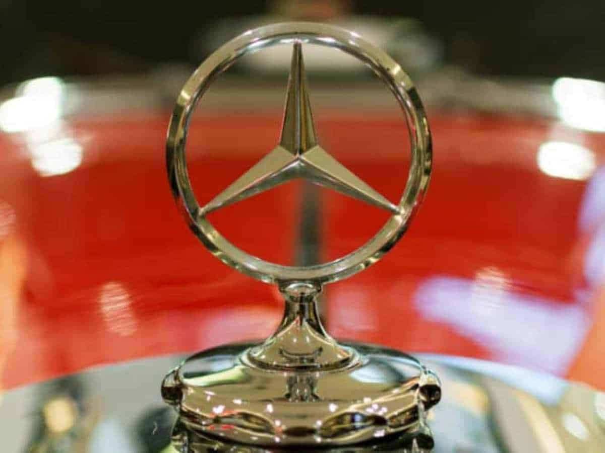 New model of Mercedes Benz launched in Hyderabad